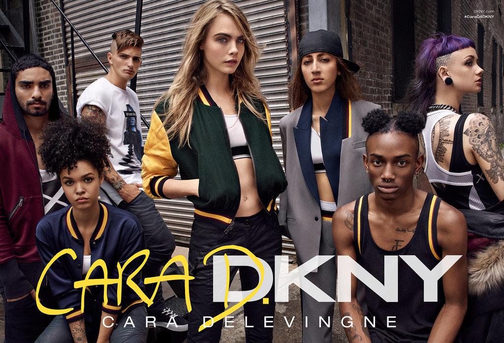 Cara Delevingne x DKNY Campaign