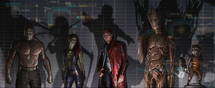 How to Be Your Favorite Guardians of the Galaxy Character For Halloween