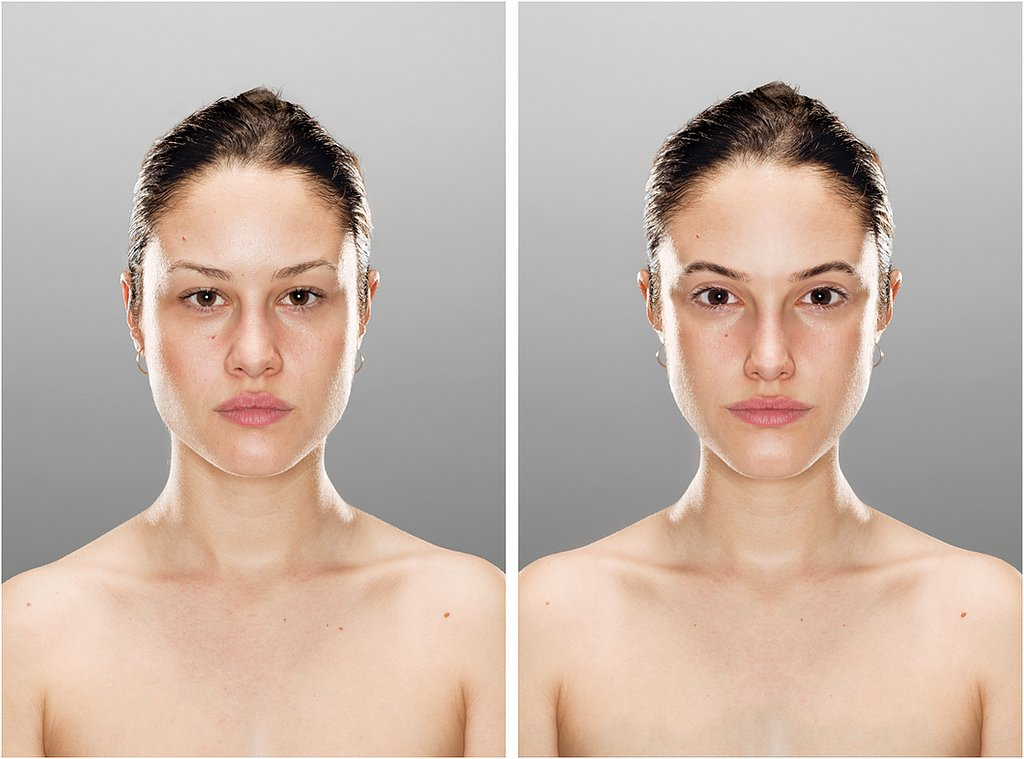 facial beauty experiment