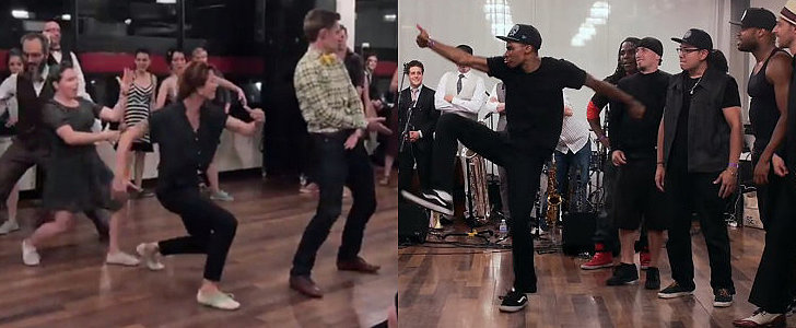 Swing Dancers and Street Dancers Battle It Out in One Awesome Dance-Off