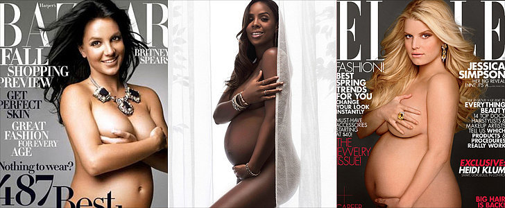 Kelly Rowland Joins the Ranks Of Stars Who've Posed Naked and Pregnant