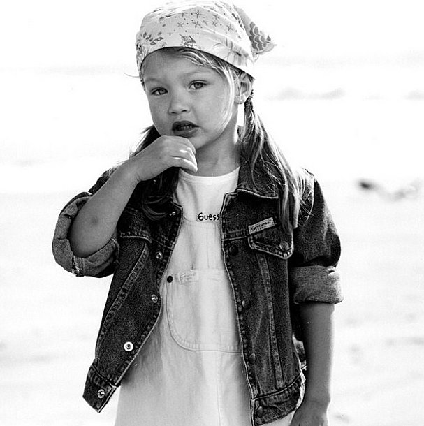 She's been destined to model since day one . . .