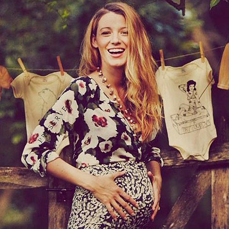 Pregnant Blake Lively Baby Bump Pictures