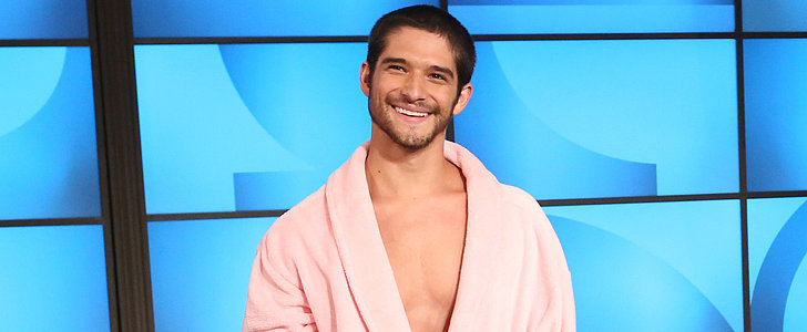 Tyler Posey Strips Down to His Underwear on Ellen