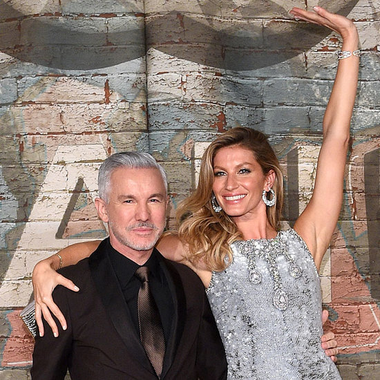 Gisele Bundchen And Baz Luhrmann At Chanel No 5 Launch Party