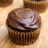 Vegan Chocolate Cupcakes with Avocado Icing