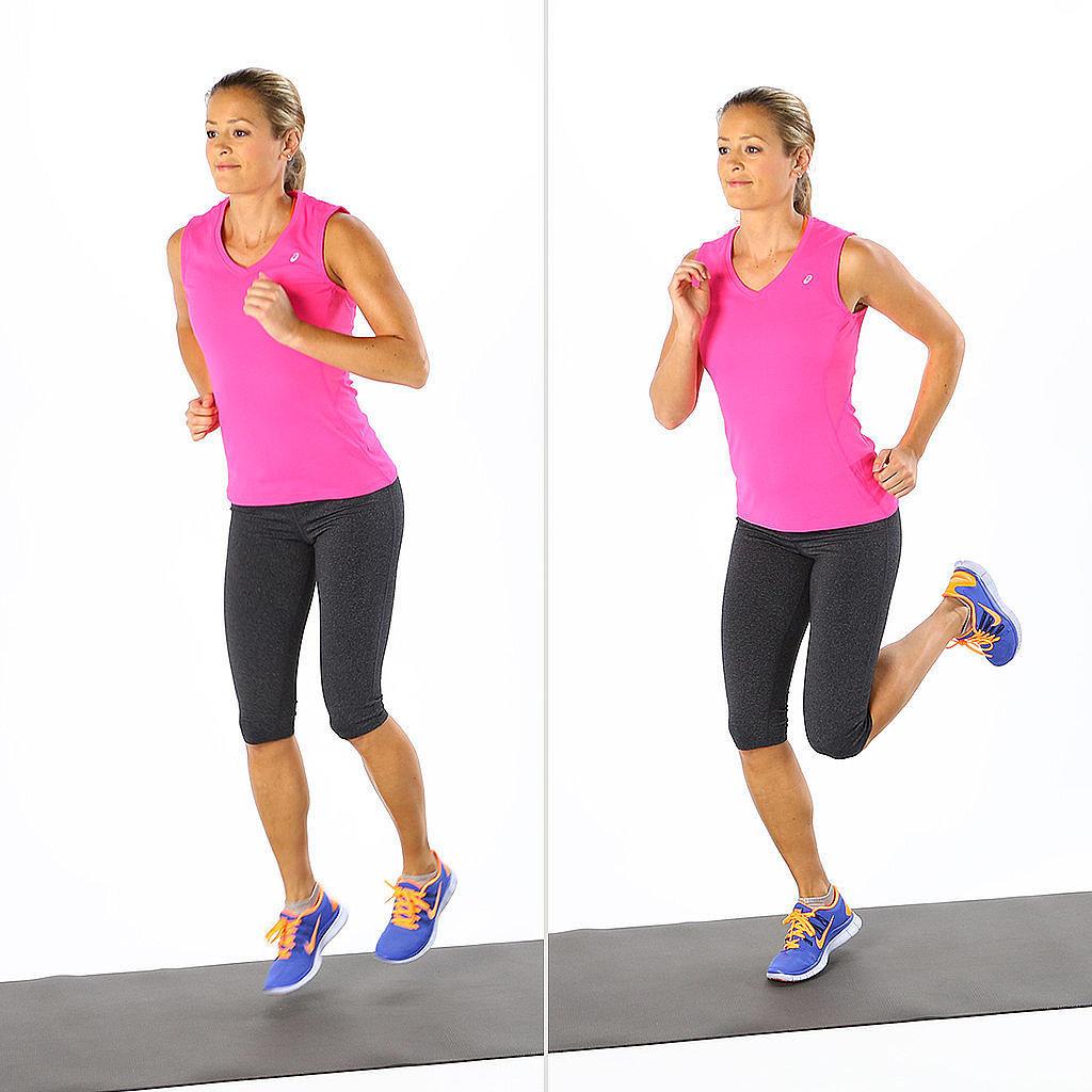 Balance Ball Kick: POPSUGAR Fitness Australia