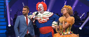 What Was Up With Mark Holden's Creepy Clown on DWTS?