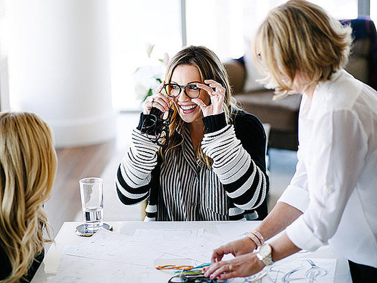 Behind the Scenes of Katie Cassidy's Photoshoot for Her New Glasses Collection