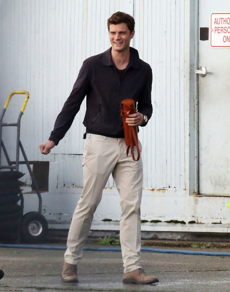 How hot does Dornan look in casualwear?