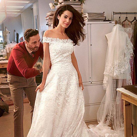 Shop Amal Alamuddin's Oscar de la Renta Wedding Dress