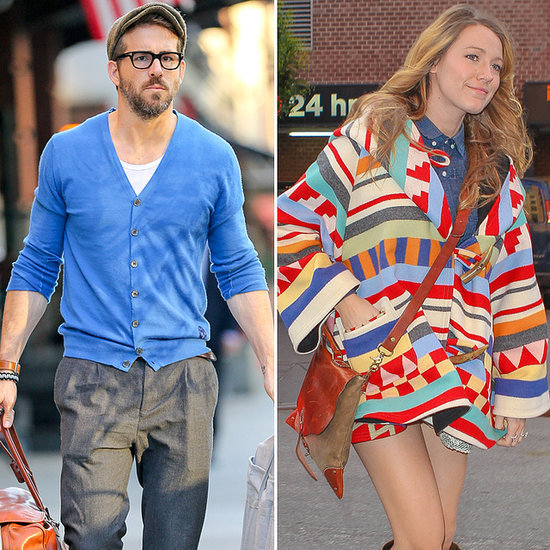 Pictures Of Pregnant Blake Lively And Ryan Reynolds New York