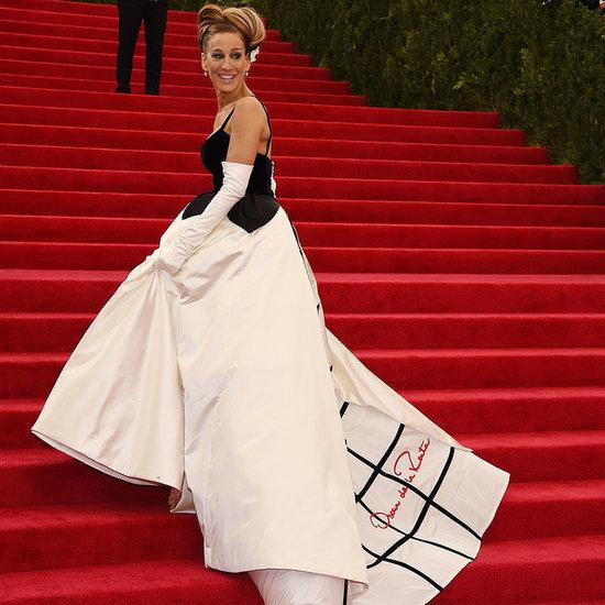 Celebrities Wearing Oscar de la Renta Dresses