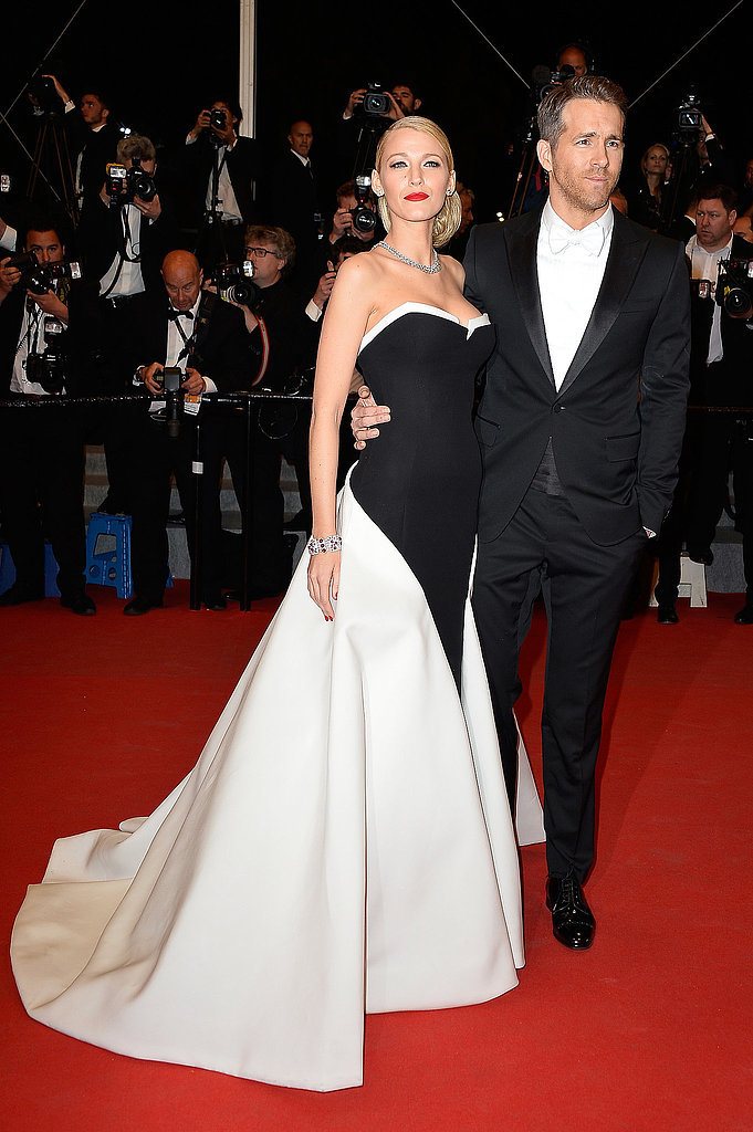 Blake Lively wore a stunning Gucci Première ball gown to the 2014 Cannes premiere of Captives, which starred husband Ryan Reynolds.