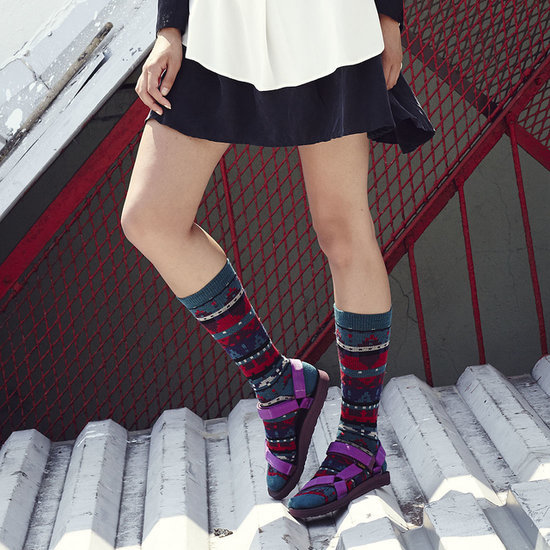How to Wear Socks and Sandals Trend