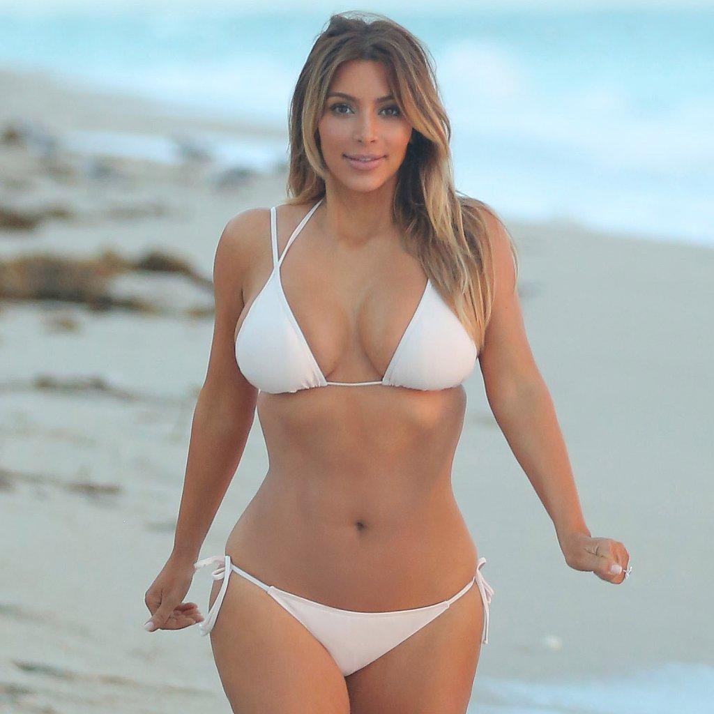 Popsugar Celebrity: Kim Kardashian Bikini Pictures