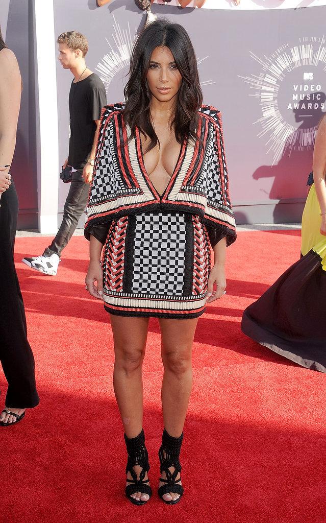 Kim Kardashian at the 2014 MTV VMAs