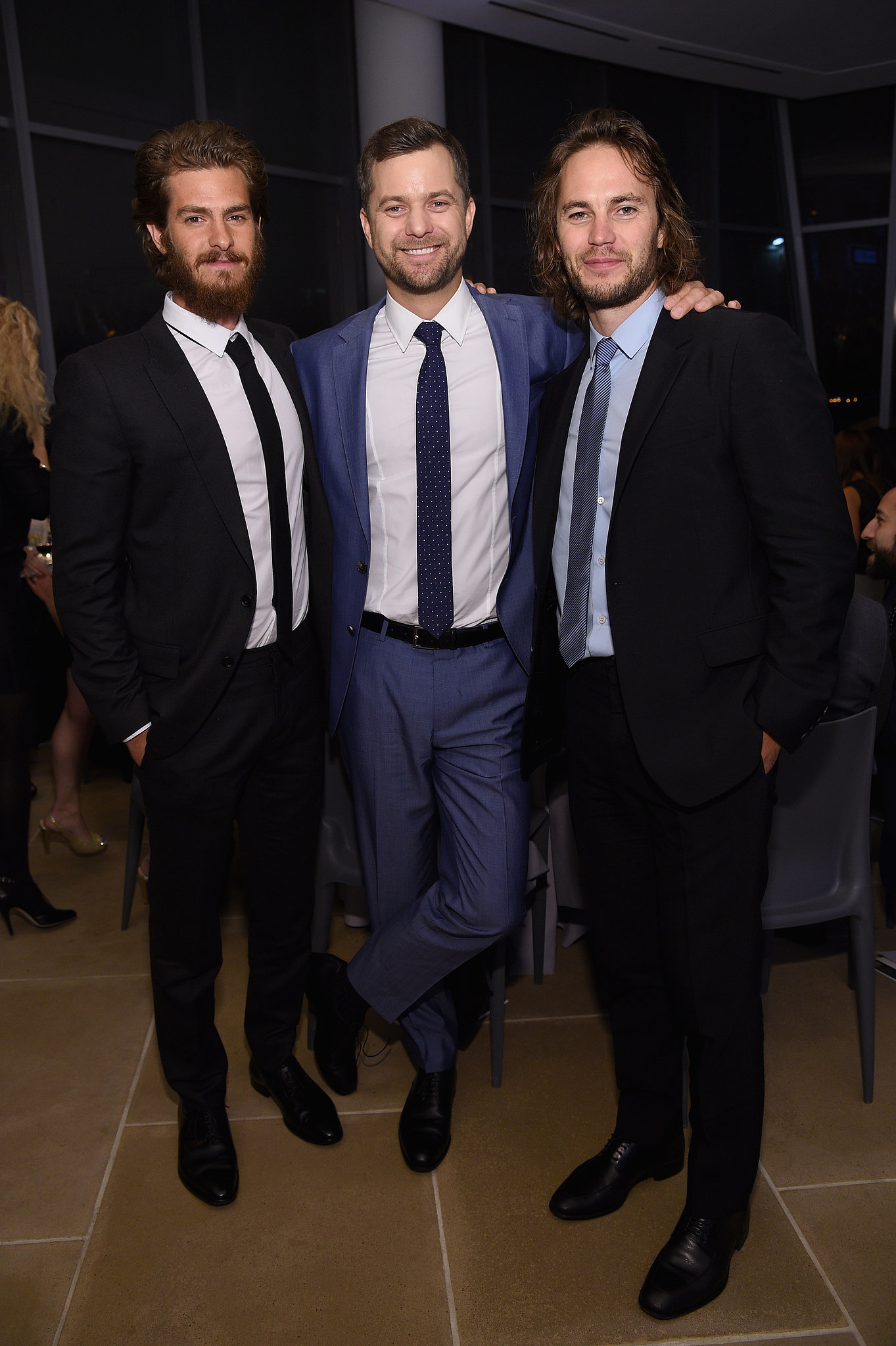 Photo of Taylor Kitsch & his friend actor  Andrew Garfield - United States