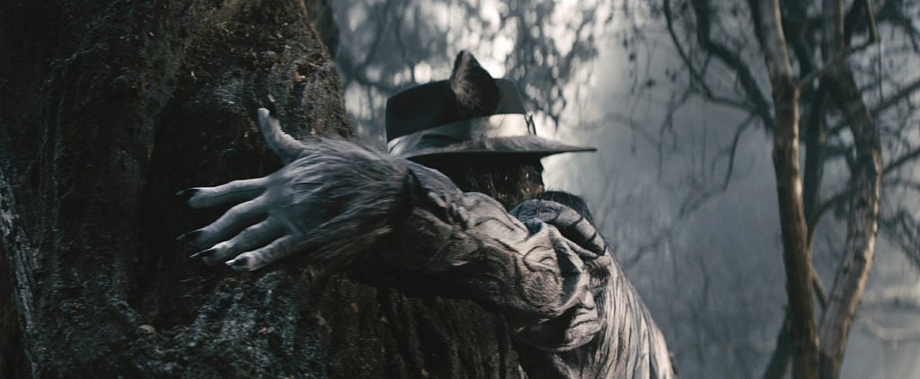 Here's What Johnny Depp Looks Like as The Wolf in Into the Woods