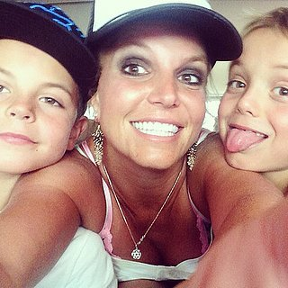 Britney Spears Family Pictures on Ins