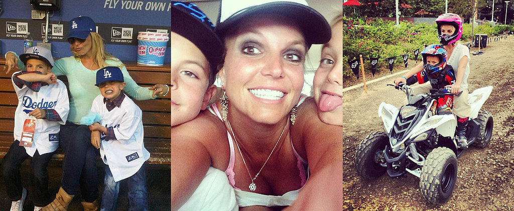 26 Cute Pictures That Prove Britney Spears Is a Superstar Mom