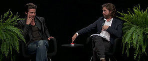 """Zach Galifianakis Goes There While """"Interviewing"""" Brad Pitt on Between Two Ferns"""