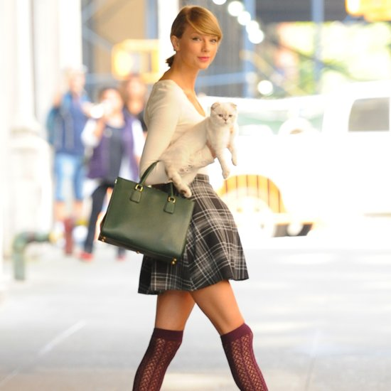 How to Wear Thigh-High Socks | Taylor Swift