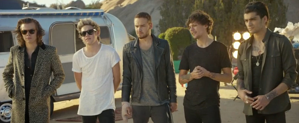 The 7 Stages of Crushing On One Direction in Their New Video