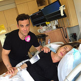 Robbie Williams Live Tweets Wife's Birth