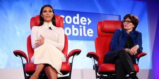 Here's What We Learned From Kim Kardashian's Tech Talk At Code Mobile