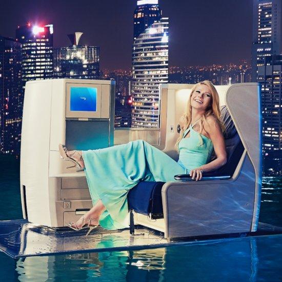 Gwyneth Paltrow Wears Jimmy Choo Heels in British Airways Ad