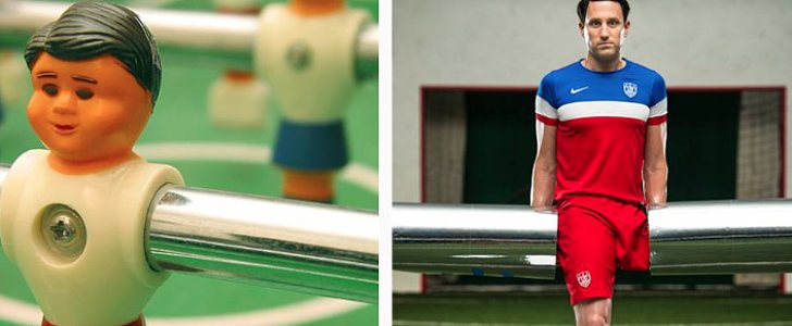 This Amputee Created a Mind-Blowing Foosball Player Costume