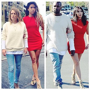 What Would Yeezus Wear Instagram Copies Kim and Kanye Style