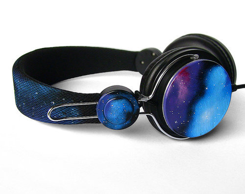 Gift her these hand-painted galaxy earphones ($58), and she'll treasure them — and you — forever.