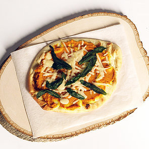 Pumpkin and Fried Sage Flatbread