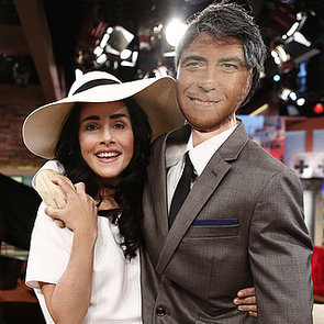 Ellen DeGeneres and Meredith Vieira as Amal Alamuddin