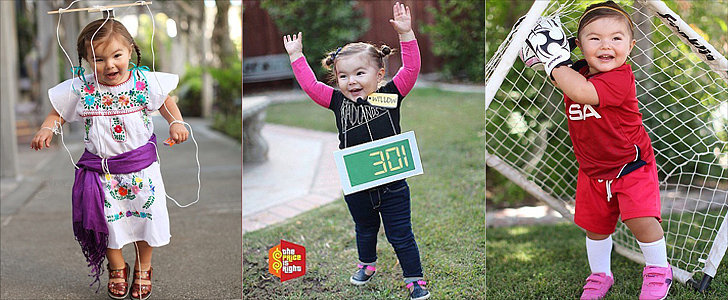 This Little Girl's Halloween Costumes Could Not Be Any Cuter