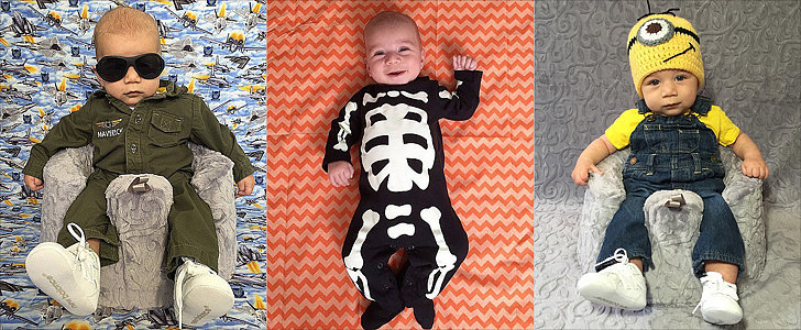 A Mom's Photo Project Turns Into the Cutest Halloween Countdown