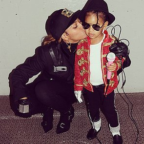 Beyoncé and Blue Ivy Carter 2014 Halloween Costumes