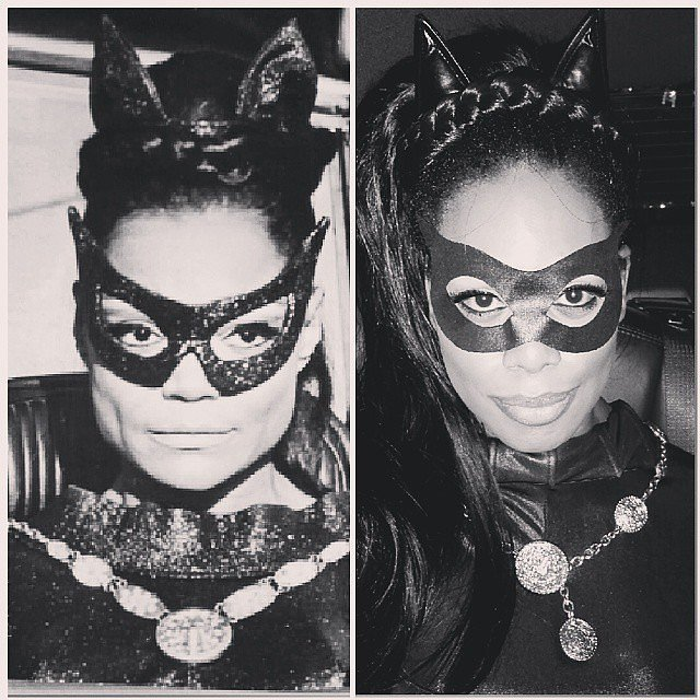 In 2014, Laverne Cox was Eartha Kitt's catwoman on Instagram.