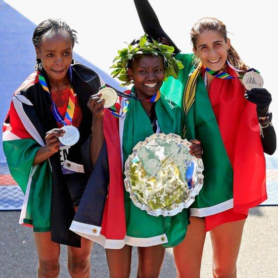 NYC Marathon Women's Winner 2014
