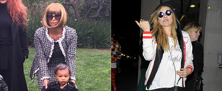 Who Had the Best Fashion-Girl Costume — Kim Kardashian or Kate Moss?