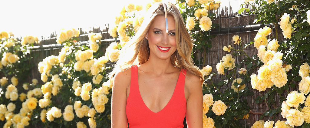 Laura Dundovic Does Melbourne Cup Colour the Right Way