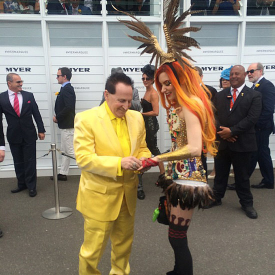 Celebrity News and Interesting People at 2014 Melbourne Cup
