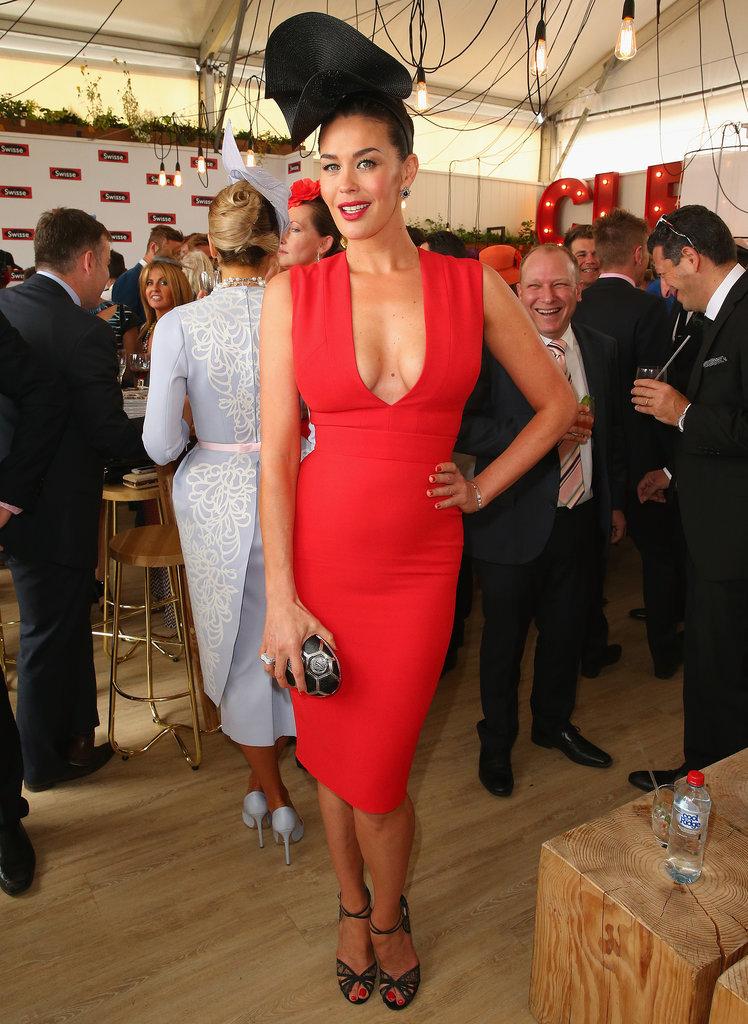 2014 Melbourne Cup Celebrity Fashion Pictures Popsugar