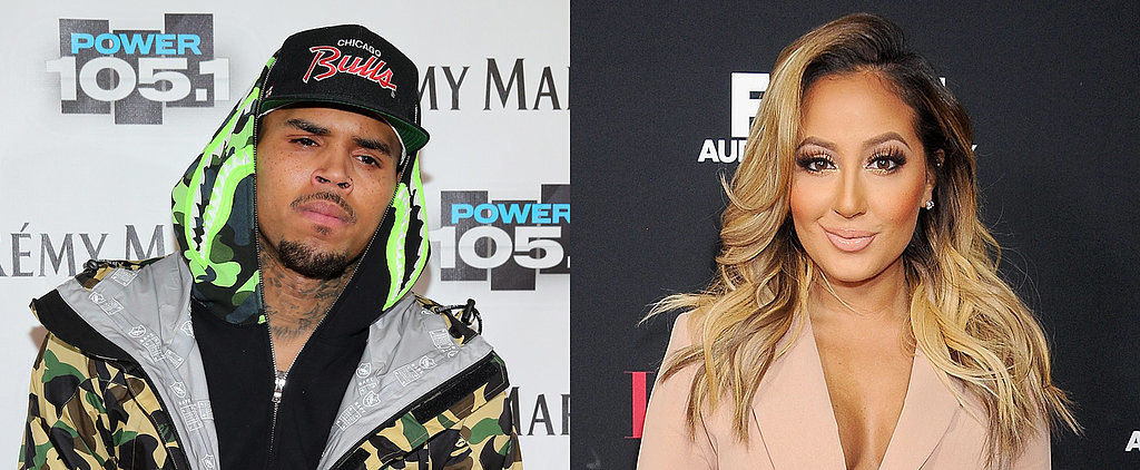 Adrienne Bailon Responds to Chris Brown's Foulmouthed Rant