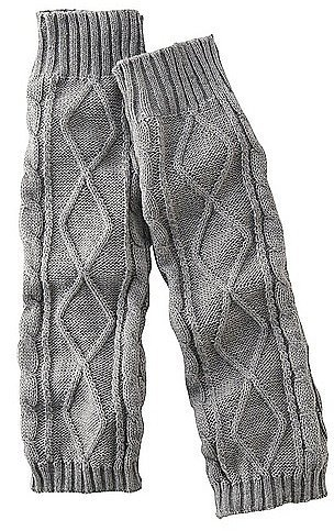 Uniqlo Heattech Knitted Leg Warmers