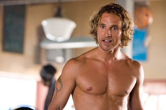Matthew McConaughey: A Career in Shirtlessness