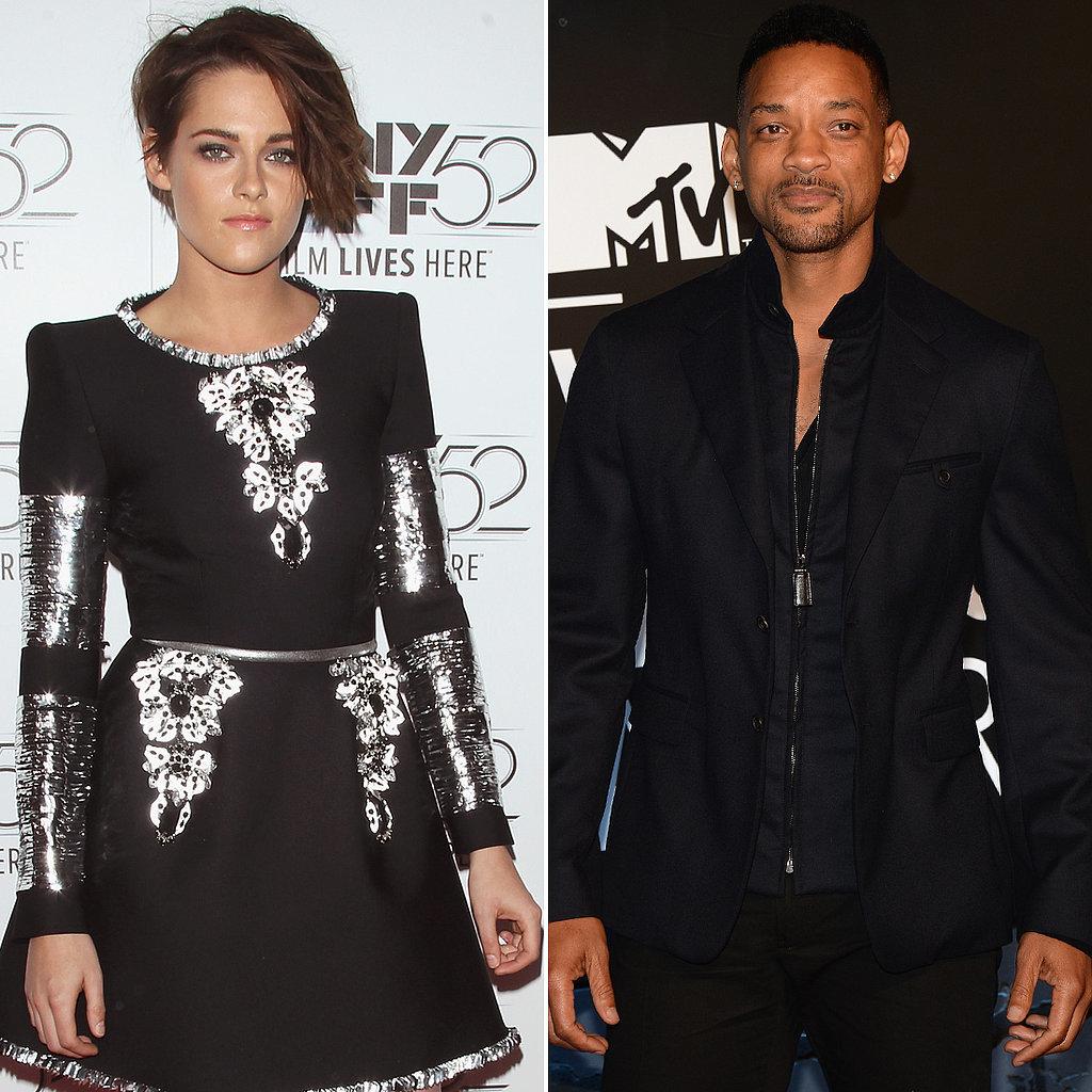 Kristen Stewart and Will Smith