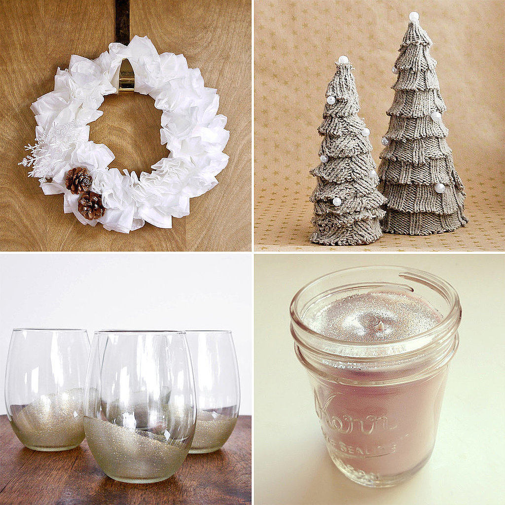 White christmas decorations to make - Christmas Decorations Diy Projects Photo 8